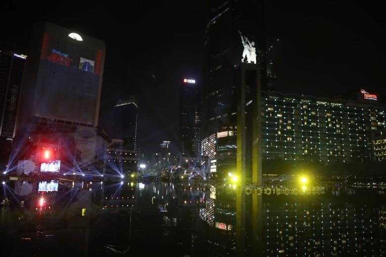 Warga Luar Jakarta Mengaku Terhibur dengan Acara Puncak HUT DKI