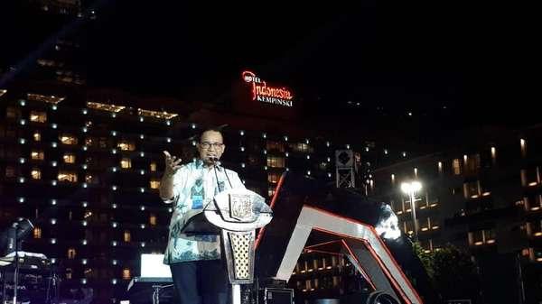 Anies: Wajah Baru Jakarta Bukan Saja Soal Fisik Tapi Cara Pikir