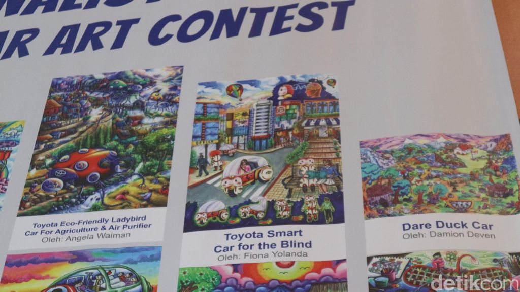 Toyota menyelenggarakan acara pengumuman pemenang lomba gambar Toyota Dream Car Art Contest Indonesia (TDCAC) 2019. Satu karya anak bangsa akan dipilih untuk mewakili Indonesia di ajang kompetisi global di Tokyo, Jepang.