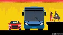 Wajah Baru Jakarta: Ada Busway Layang dari Ciledug