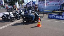 Semarak Blue Core Yamaha Motor Show di Palu