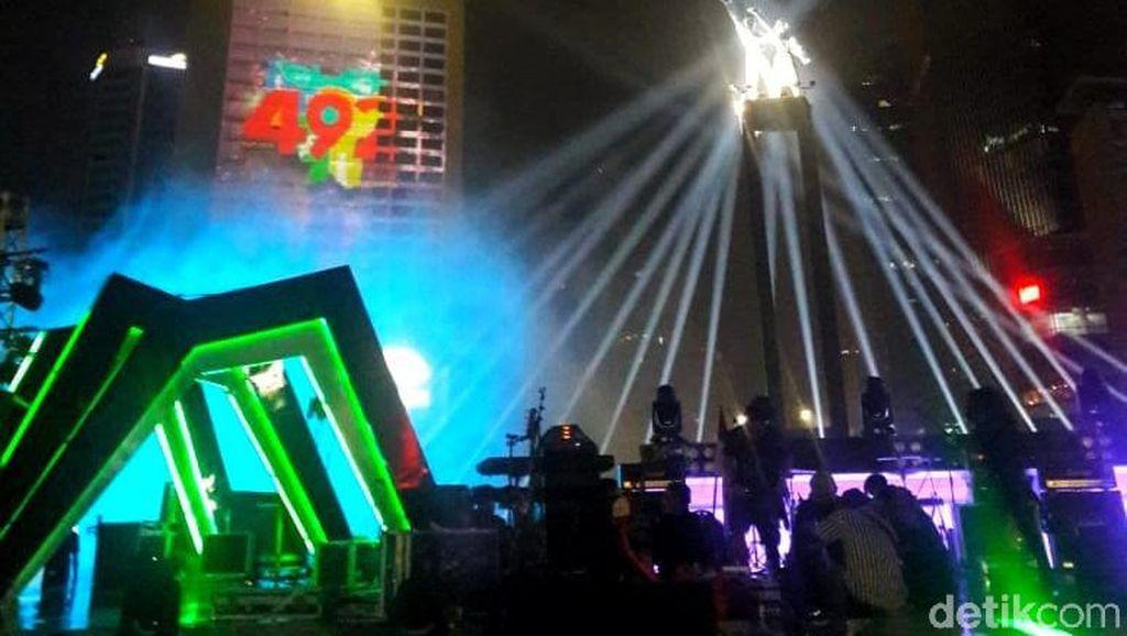 Ini Bocoran Serunya Perayaan HUT Jakarta di Bundaran HI Malam Ini