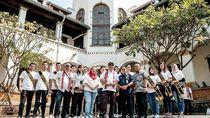 Seharian, Menpar Pelesiran di Kota Lama Semarang