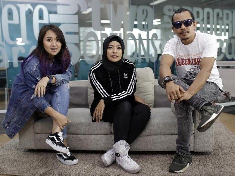 Grup band Kotak meriahkan HUT ke-492 Kota Jakarta (Foto: Foto: Asep Syaifullah/detikHOT)