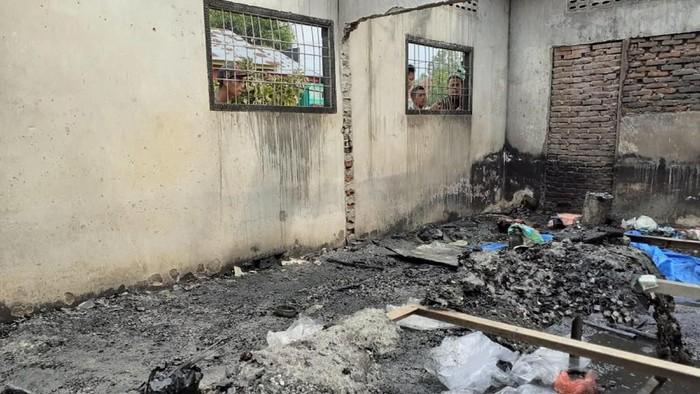 Lokasi Kebakaran (Foto: Antara Foto)