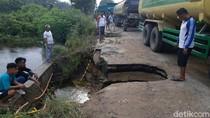 Gubernur Riau: Jalan Ambles di Kampar Statusnya Jalan Provinsi