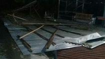 Dihantam Angin Kencang, 18 Rumah dan 6 Ruko di Bireun Aceh Rusak