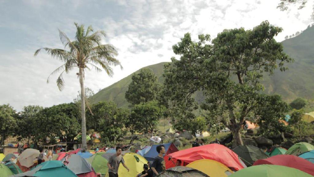 Festival 1.000 Tenda Kaldera Akan Digelar di Danau Toba