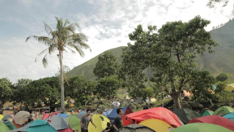 Ilustrasi Festival 1000 Tenda Kaldera (istimewa)