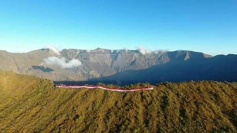 Gunung Tambora di NTB.