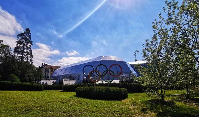 Olympic House akan menaungi semua staf IOC dalam satu atap. Gedung baru ini menyediakan tempat pertemuan untuk Gerakan Olimpiade global atau Global Olympic Movement.Foto: dok. Erick Thohir
