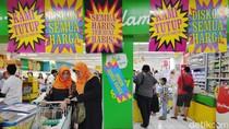 Pemerintah Cari Penyebab Tutupnya Supermarket Giant