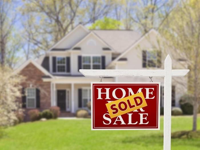 Ilustrasi rumah terjual. (Foto: iStock)