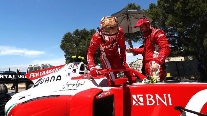Sean Gelael, pebalap Prema Racing, tanpa poin di F2 Prancis (dok.Sean Gelael)