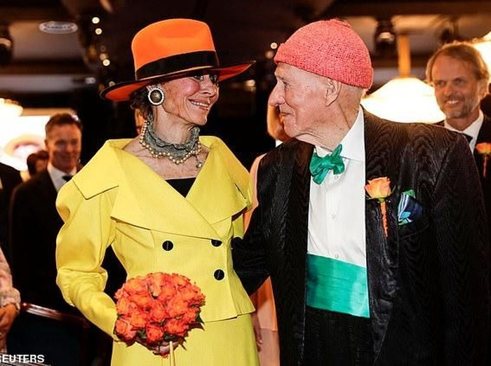 Orang terkaya di Norwegia, Olav Thon, menikahi kekasihnya setelah 35 tahun berpacaran. (Foto: Reuters)