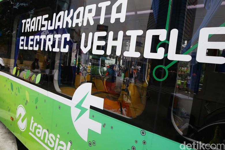 Transjakarta electric vehicle Foto: Grandyos Zafna