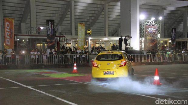 Honda Brio Slalom Contest