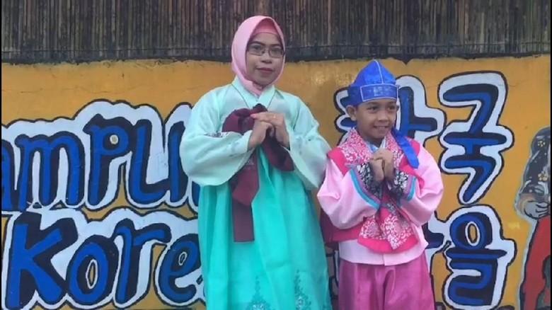 Kampung Korea di Baubau, Sulawesi Tenggara (Sitti Harlina/detikcom)