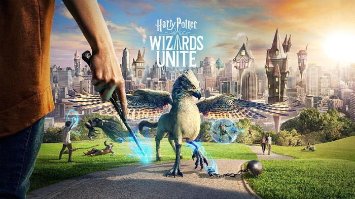 Game AR Harry Potter: Wizard Unite. Foto: www.harrypotterwizardsunite.com