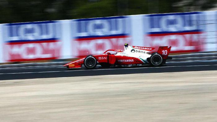 Sean Gelael gagal finis di feature race F2 Prancis (dok.Sean Gelael)
