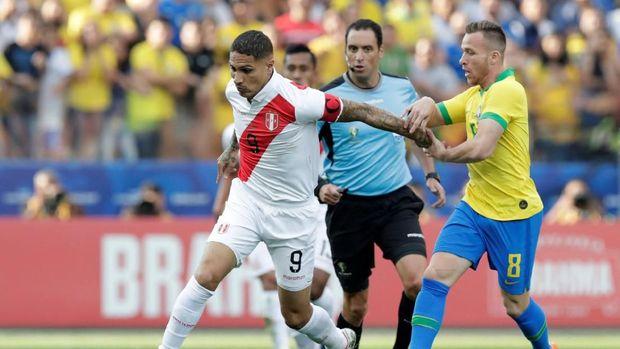 Peru kalah telak 0-5 dari Brasil di fase grup Copa America 2019.