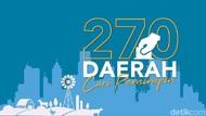 Ini Alasan Pilkada Serentak 270 Daerah akan Digelar 23 September 2020