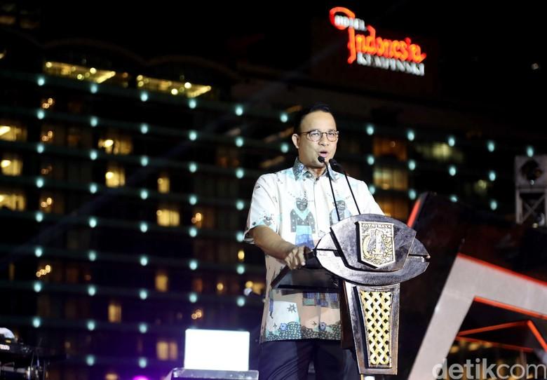 Anies Minta Tak Ada Spekulasi Listrik Padam Bikin Polusi Berkurang