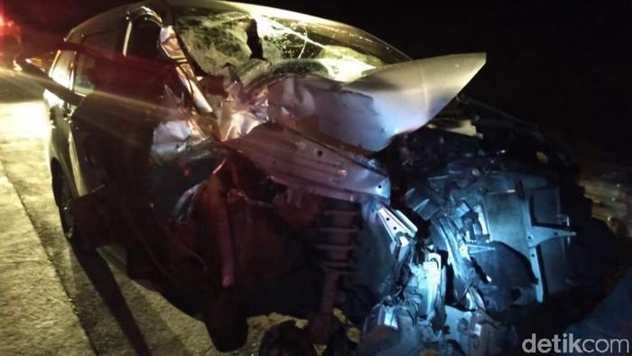 Kecelakaan di Tol Pandaan-Malang/Foto: Istimewa