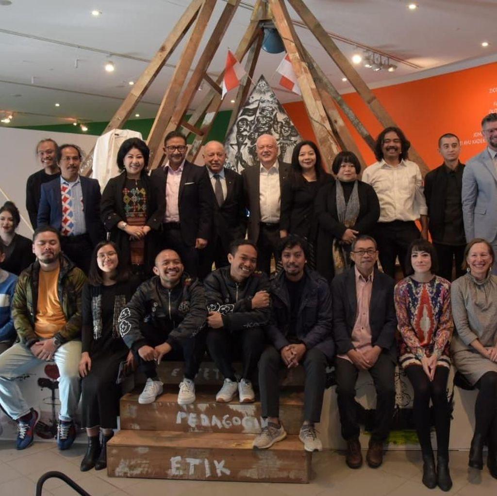 Pameran Contemporary Worlds: Indonesia Jadi Eksibisi Terbesar di Australia