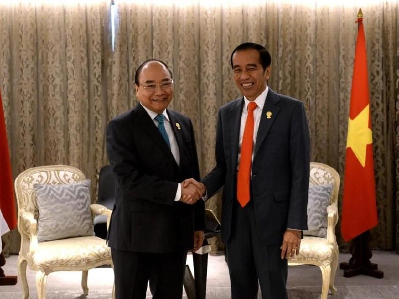 Jokowi-PM Vietnam Sepakat Percepat Selesaikan Perundingan Batas ZEE