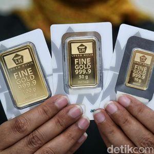 Naik Rp 3.000, Harga Emas Hari Ini Rp 772.000/Gram