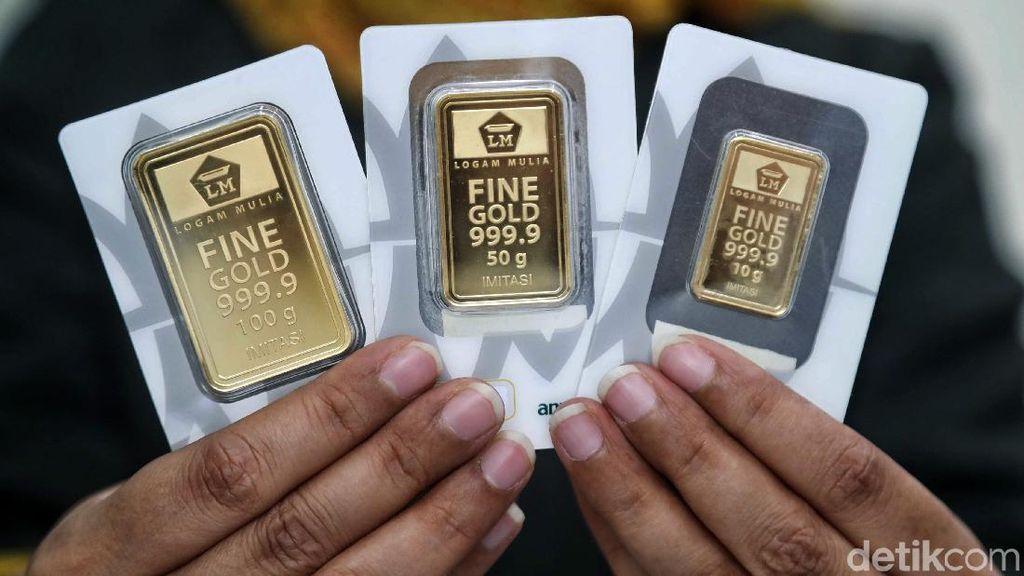 Harga Emas Sentuh Level Tertinggi