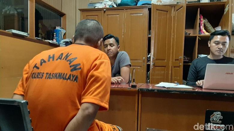 Bejat Guru SD di Tasikmalaya Perkosa Anak Tirinya yang di Bawah Umur