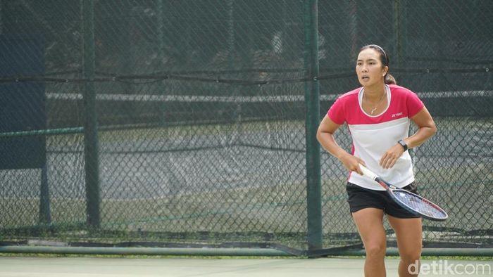 Aldila Sutjiadi relaks menuju SEA Games 2019 Filipina. (Femi Diah/detikSport)
