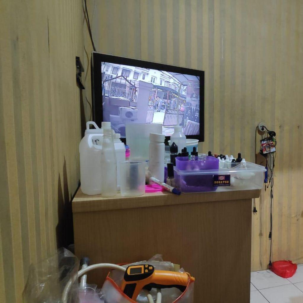 Home Industry Sabu di Jakarta Barat Dilengkapi CCTV