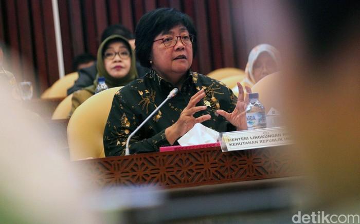 Menteri LHK, Siti Nurbaya (Foto: Lamhot Aritonang)