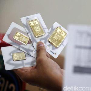 Anjlok Rp 16.000, Emas Antam Pagi Ini Dijual Rp 904.000/Gram