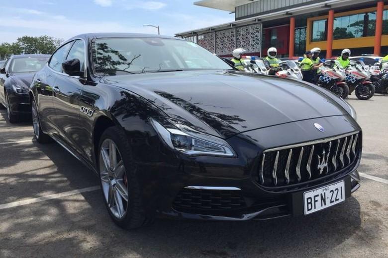 Maserati. Foto: ABC Australia