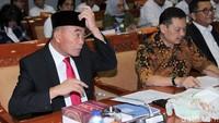Rapat kerja membahas Daya Serap APBN 2018, Rencana Kerja Anggaran (RKA) dan Rencana Kerja Pemerintah (RKP) Kementerian Pendidikan dan Kebudayaan tahun anggaran 2020.