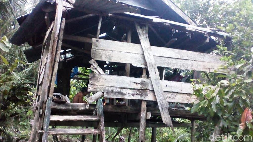 Ironi Lansia Miskin di Polman, Hidup Memprihatinkan di Gubuk Reyot