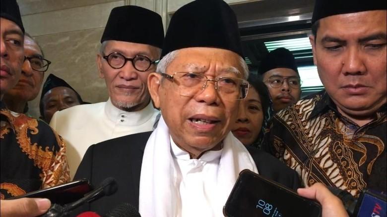 Maruf Amin: Pembicaraan Awal dan Deal Rekonsiliasi Sudah Dilakukan
