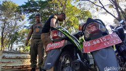 Parkir Sembarangan, Motor-motor PNS Pemkot Makassar Diangkut