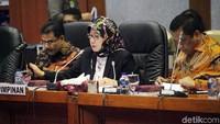 Rapat kerja dipimpin oleh Wakil Komisi X DPR Reni Marlinawati.