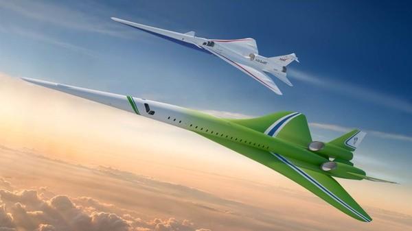 Inilah desain pesawat supersonik baru yang diluncurkan oleh Lockheed Martin Aeronautics yang bisa jadi penanda zaman baru penerbangan super cepat (Lockheed Martin Aeronautics/CNN)