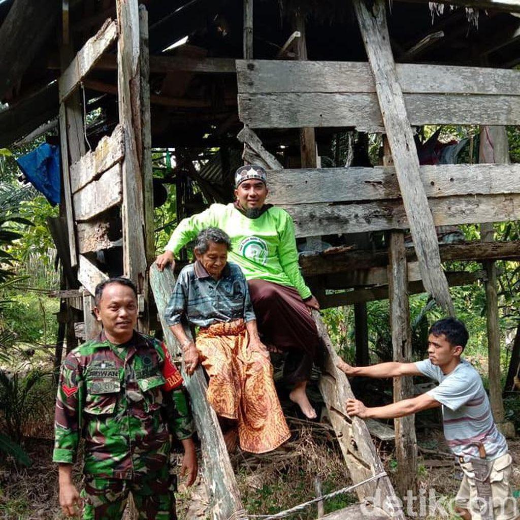 Video: Gubuk Reyot Lansia di Polman Dibongkar