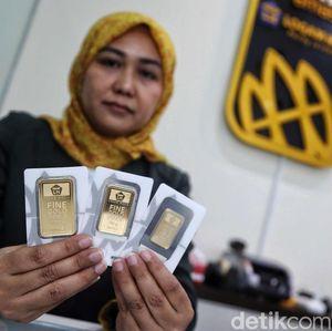 Turun Rp 2.000, Harga Emas Antam Dipatok Rp 707.000/Gram