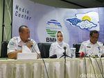 Konferensi Pers, Kepala BMKG Jelaskan soal Gempa di Papua dan Maluku