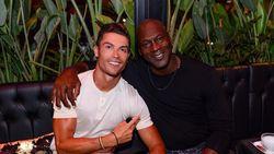 Ketika Ronaldo Bertemu Michael Jordan