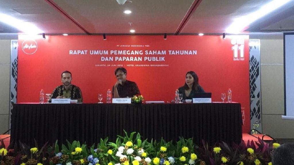 Rugi AirAsia Indonesia Berkurang Jadi Rp 93 M