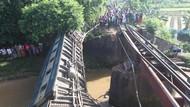 Jembatan Ambruk, Kereta di Bangladesh Terjun ke Kanal dan Tewaskan 5 Orang